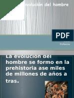 La evolución del hombre.pptx