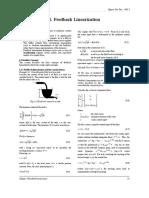 C.6 Feedback Linearization
