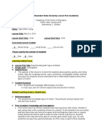 physical science lesson plan 2