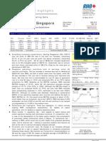 Genting Singapore Plc :Exceeding Consensus Expectations -14/05/2010
