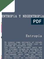 ENTROPIA Y NEGENTROPIA