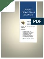 Cadena Productiva Del Cuero - Tecnologias II