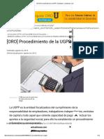 [ORO] Procedimiento de La UGPP _ Actualidad - Actualicese