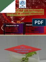 Cell Immobilization Technique