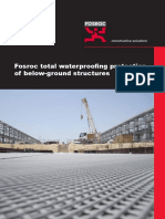 Fosroc Below Ground Waterproofing Brochure