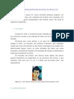AS VANGUARDAS ARTÍSTICAS NO INÍCIO DO SÉCULO XX