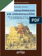 Rolando Garcia - Concocimiento en Construccion
