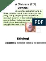 Fetal Distress (FD)