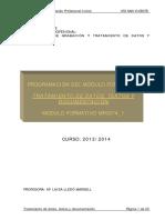 Programacion TratamientoDatosTextos 2013 14