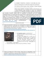 WebQuest Nº2 Origen Del Hombre
