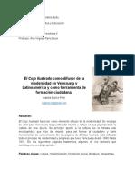 El Cojo Ilustrado como difusor de la modernidad en Venezuela y Latinoamérica y como herramienta de formación ciudadana.