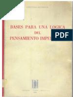 Cayetano Betancour - Bases Para Una Logica Del Pensamiento Imperativo