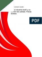 II La Industria Textil y Su Control de Calidad Fibras Textiles