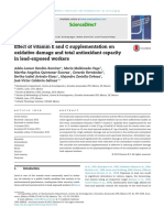 Effect of vitamin E and C supplementation on oxidative damage and total antioxidant capacity in lead-exposed workers