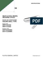 Fujitsu Heatpump - AWT17LSAZ