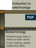 1 Introduction to Biotechnology