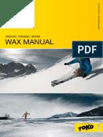 Toko Wax Manual 10-11