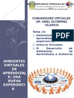 Comunidades Virtuales Tema 15