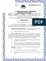 Balochistan Government Servants (Conduct) Rules 1979
