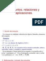 1. Conjuntos,Relaciones y Aplicaciones