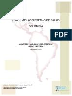 Perfil Sistema Salud-Colombia 2009