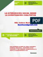 3-La Intervencion Social Desde La Investigacion Cualitativa-MSC. Isidoro Benites Morales