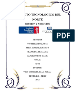 Instituto Tecnológico Del Norte Sociedda y Economia Mave