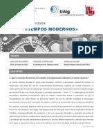 Teorias Clássicas (Taylor, Webber, Fayol) - Tempos Modernos