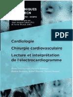 Cardio, Chirurgie Cardiovasculaire, ECG