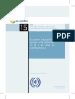 Informe del Estado Región 2015