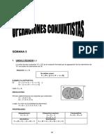 SEMANA 3 - Operaciones Conjuntistas