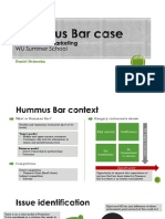 Hummus Bar Case Resolution