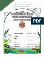 Esquema de Informe Final de Práctica Profesional II