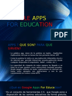 Presentacion Google Apps