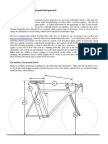 Fitting the road bicycle