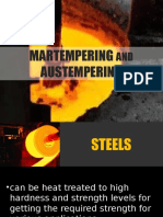 Martempering and Austempering Final Slide