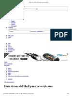 Guia de Uso Del Shell Para Principiantes