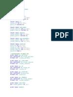 Create Database Artistas2