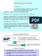Transfer Pricing System Model