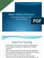 Open Water Rescue
