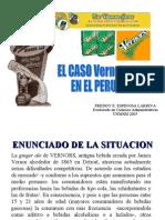 Freddy Espinosa Larriva Caso Vernors