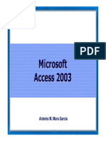 Introduccion Access 2003