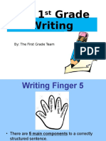 rising k writing powerpoint