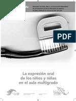 Expresion Oral Ninos Escuela Multigrado
