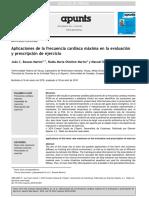 Aplicaciones de La FCMAX en La Eval y Prescr Del Ejerc