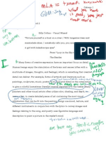 First Draft with Peer Revisions