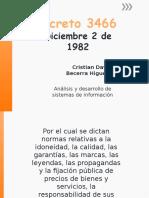 Exposicion Decreto 3466