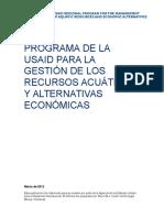Reporte Final Pesca Artesanal Honduras_ESP