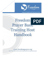 Freedom Prayer Host Handbook