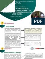 MEJORA DE LOS PROCESOS DE ASESORÍA PERSONALIZADA EN LOS ACOMPAÑANTES PEDAGÓGICOS DE LA UGEL SANDIA-PPT.
